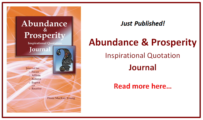 abundance & prosperity journal