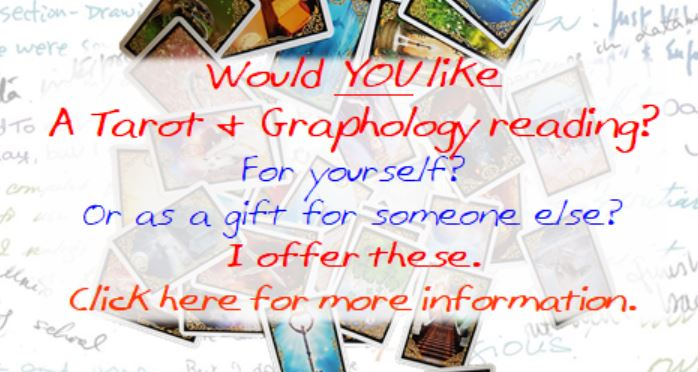 Tarot & Graphology Readings