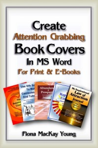 Create Attention Grabbing Book Covers in MS Word